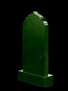 Мусульманский памятник зеленый 100 х 50 см