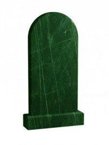 Мусульманский памятник гранит зеленый 100 x 50 см