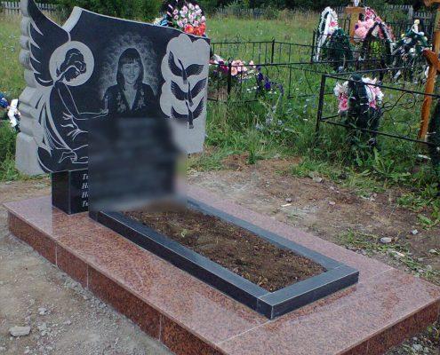 Памятник на заказ в виде ангела